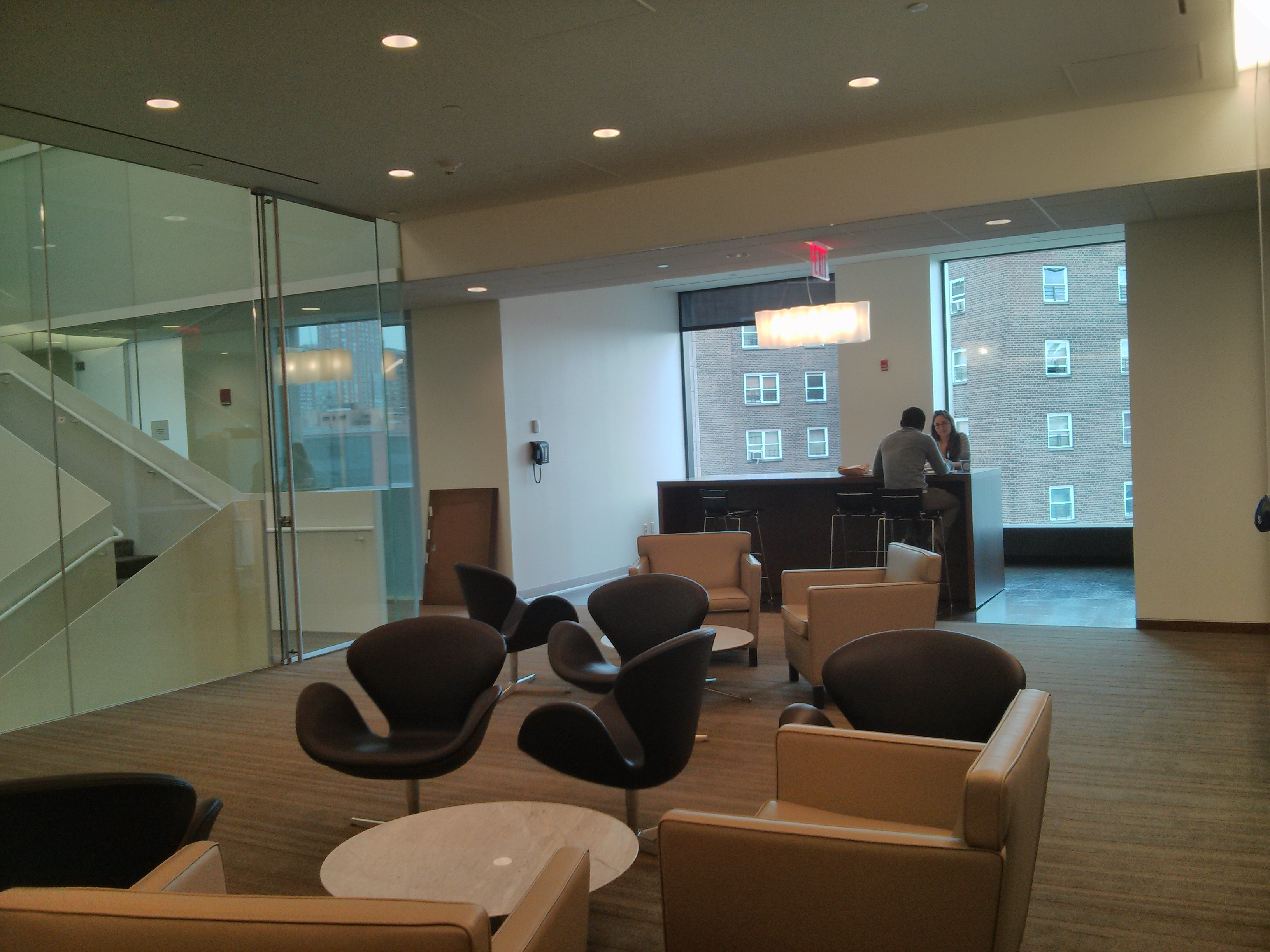 8th floor socializing area